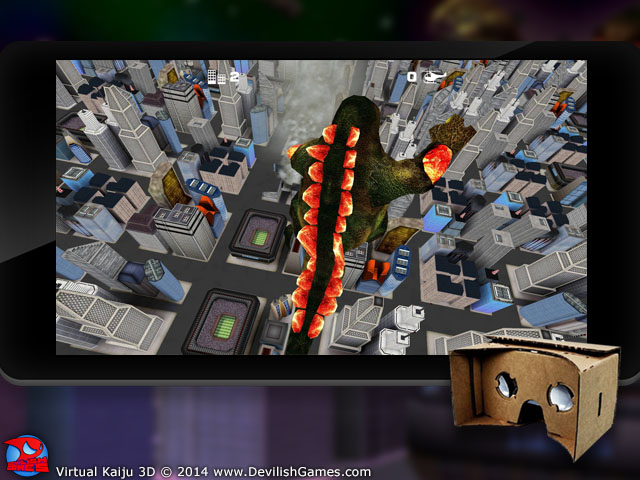 screenshot 2 Virtual Kaiju 3D  content image